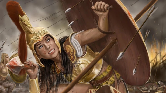 wanita spartan