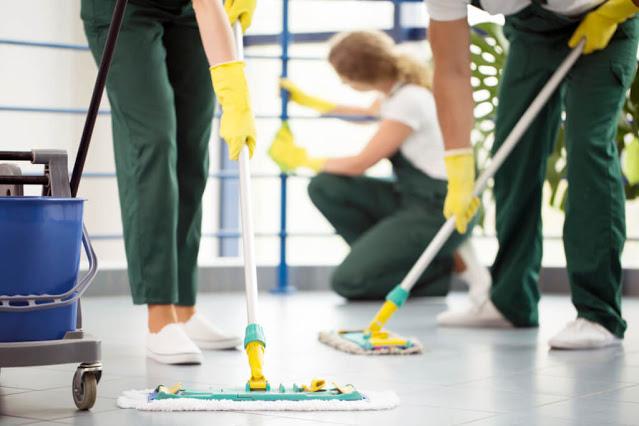 servente de limpeza