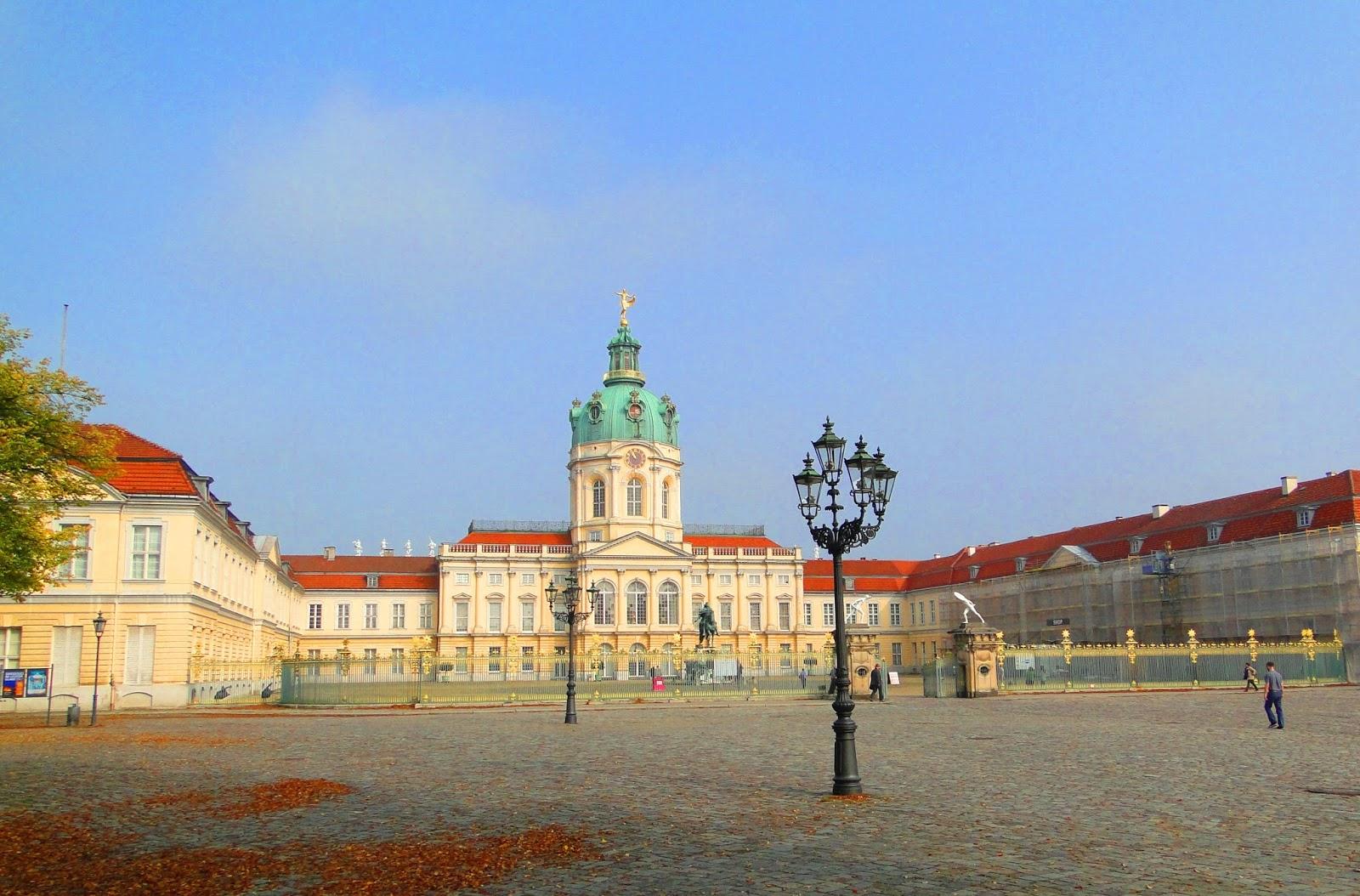 Palácio Charlottenburg em Berlim