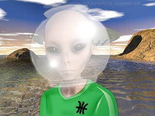 Les ummites, grey aliens en visite sur Terre.