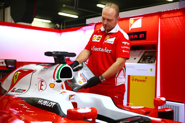 Shell crea un tour virtual, único y personalizado, dentro del garaje de la Scuderia Ferrari