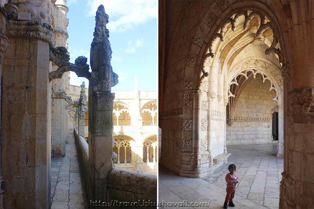 Architecture of Jeronimos Monastery Lisbon