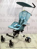 Samping Kereta Bayi CocoLatte CL89 iFlex Lightweight - Blue