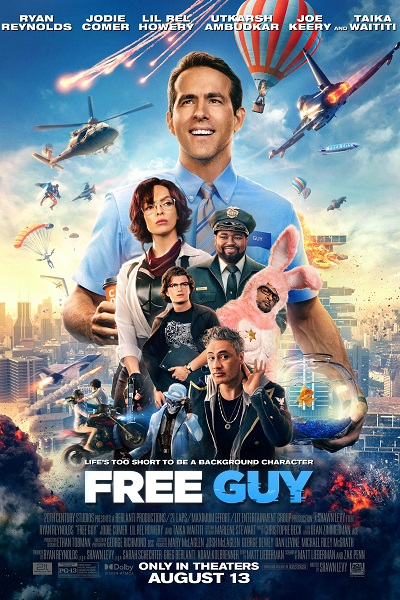 Download Free Guy (2021) Dual Audio [Hindi+English] 720p + 1080p Bluray ESubs
