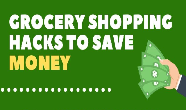 Grocery Shopping Hacks to Save Money #infographic