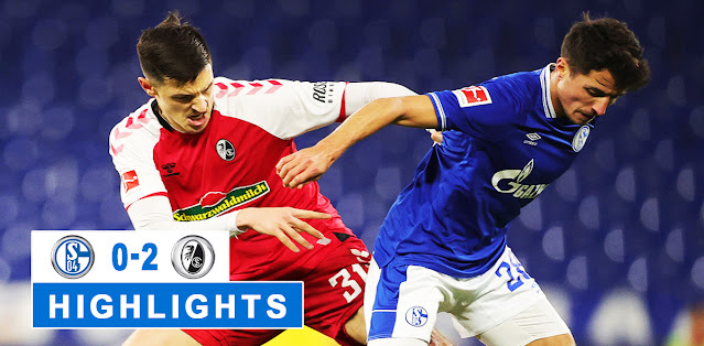 Schalke 04 vs Freiburg – Highlights
