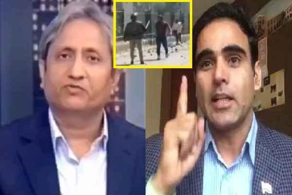 major-surendra-poonia-told-journalist-ravish-kumar-spinner-of-lie
