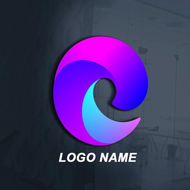 3D Logo Design Template Free Vector Image Cdr File Download