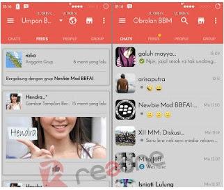 BBM Mod Redgrey v2.12.0.11 Apk