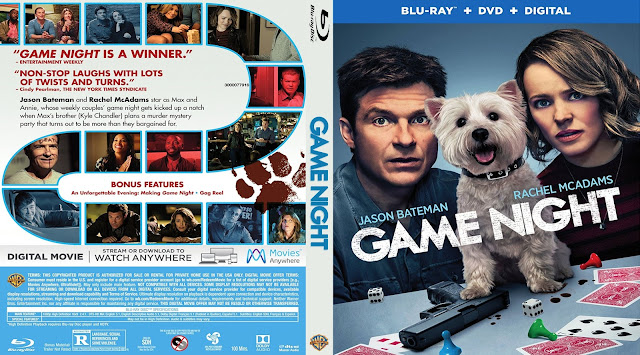Game Night Bluray Cover