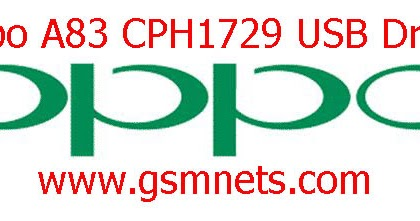 Oppo A83 CPH1729 USB Driver Download - Gsm Network Mobile