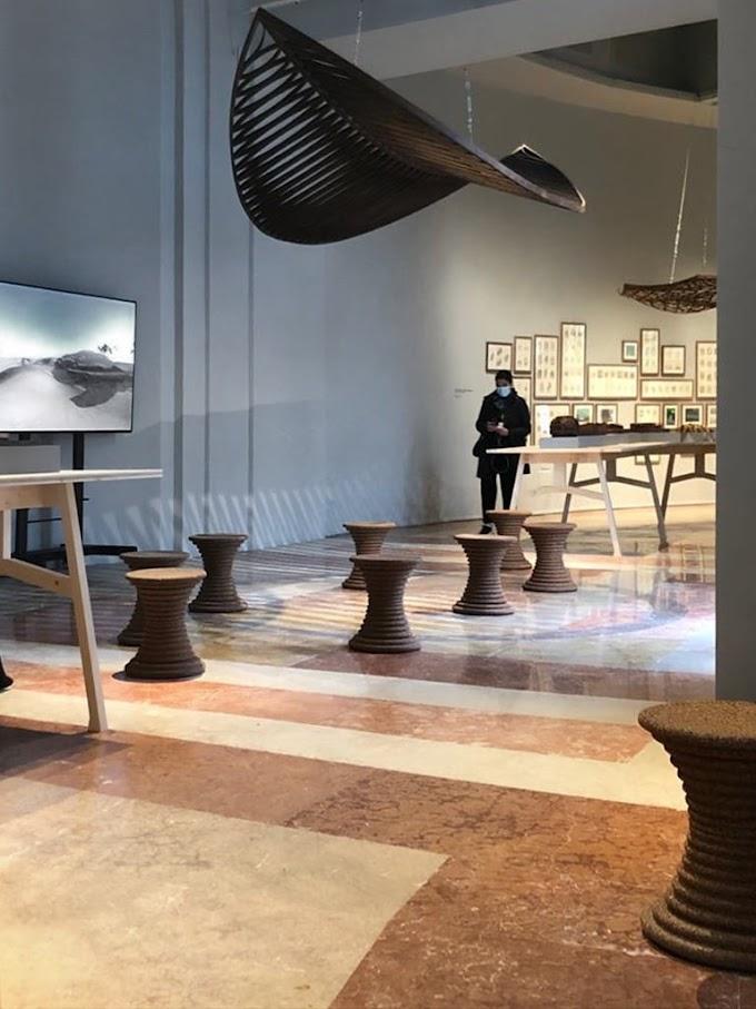 Il Padiglione Venezia a La Biennale si veste di sughero riciclato