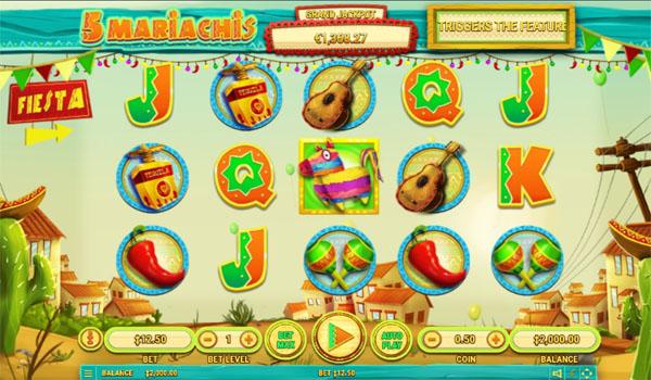 Main Gratis Slot Indonesia - 5 Mariachis Habanero