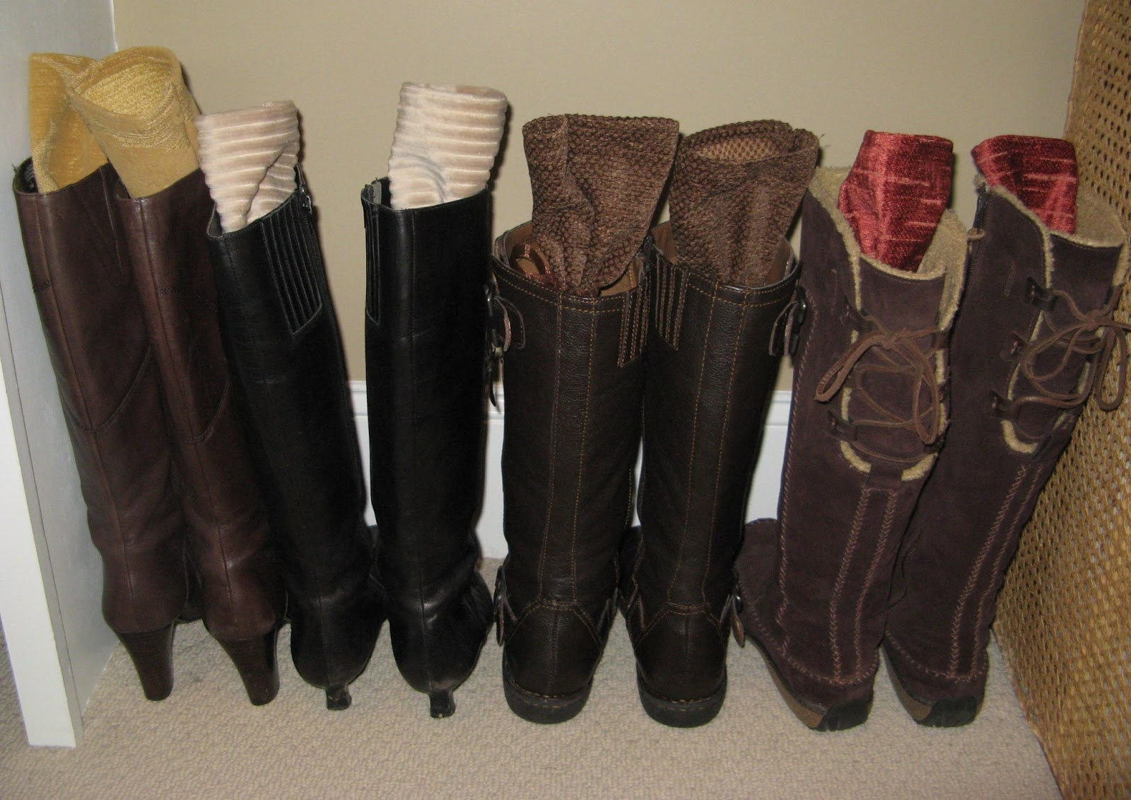 Susan Snyder: BOOT HOLDERS