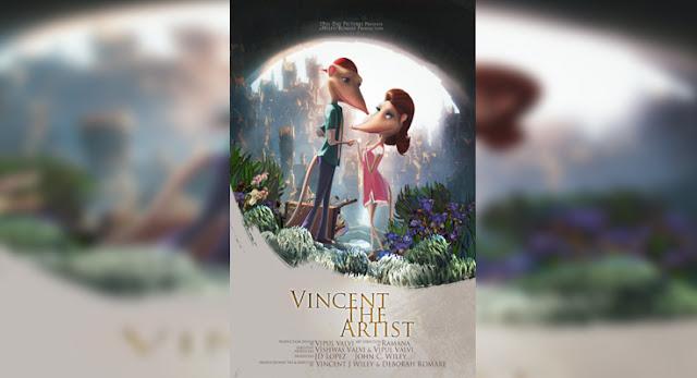 Sinopsis, detail dan nonton trailer Film Vincent the Artist (2017)