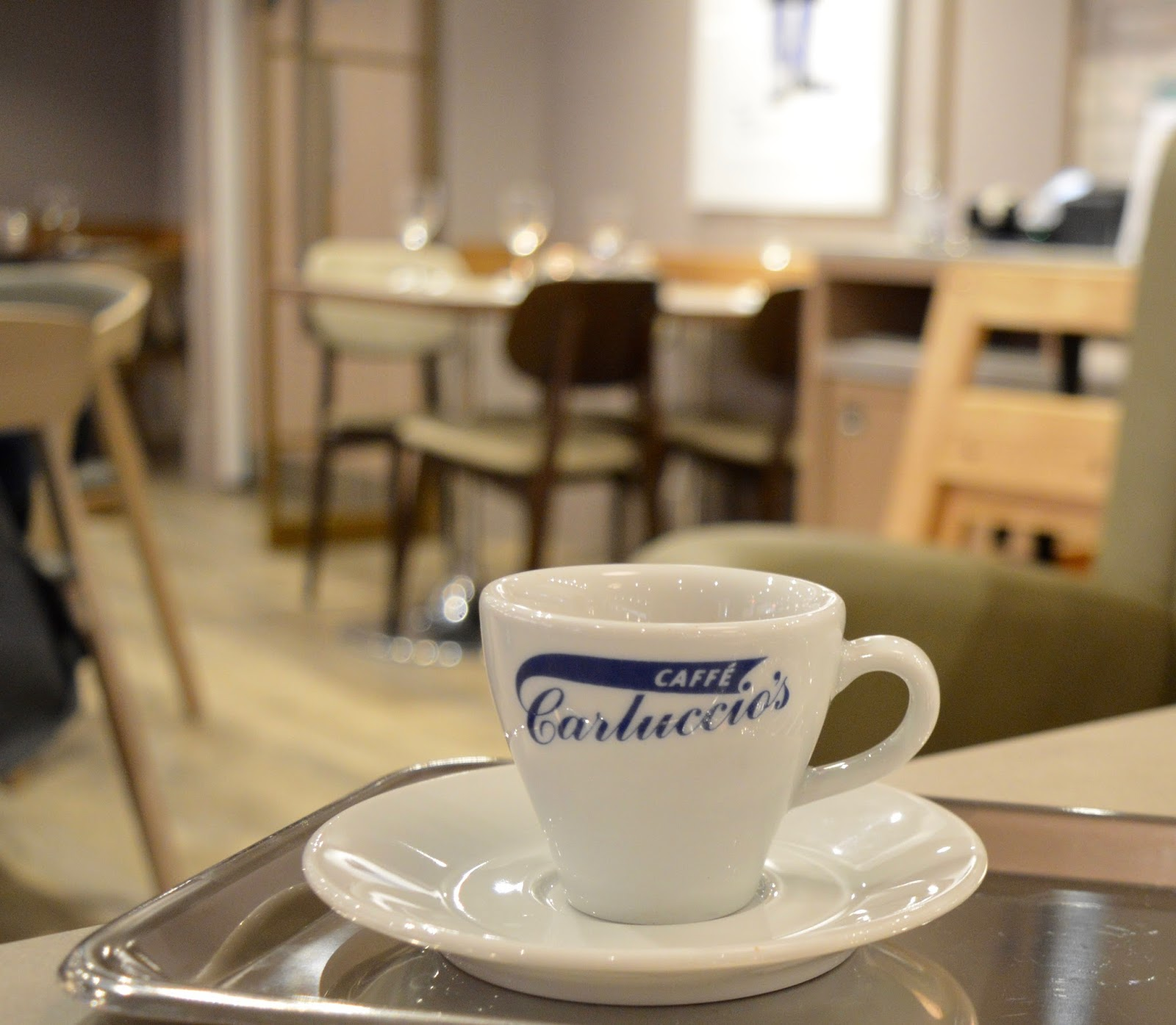 Carluccio's - intu Metrocentre | Children's Menu Review - espresso coffee