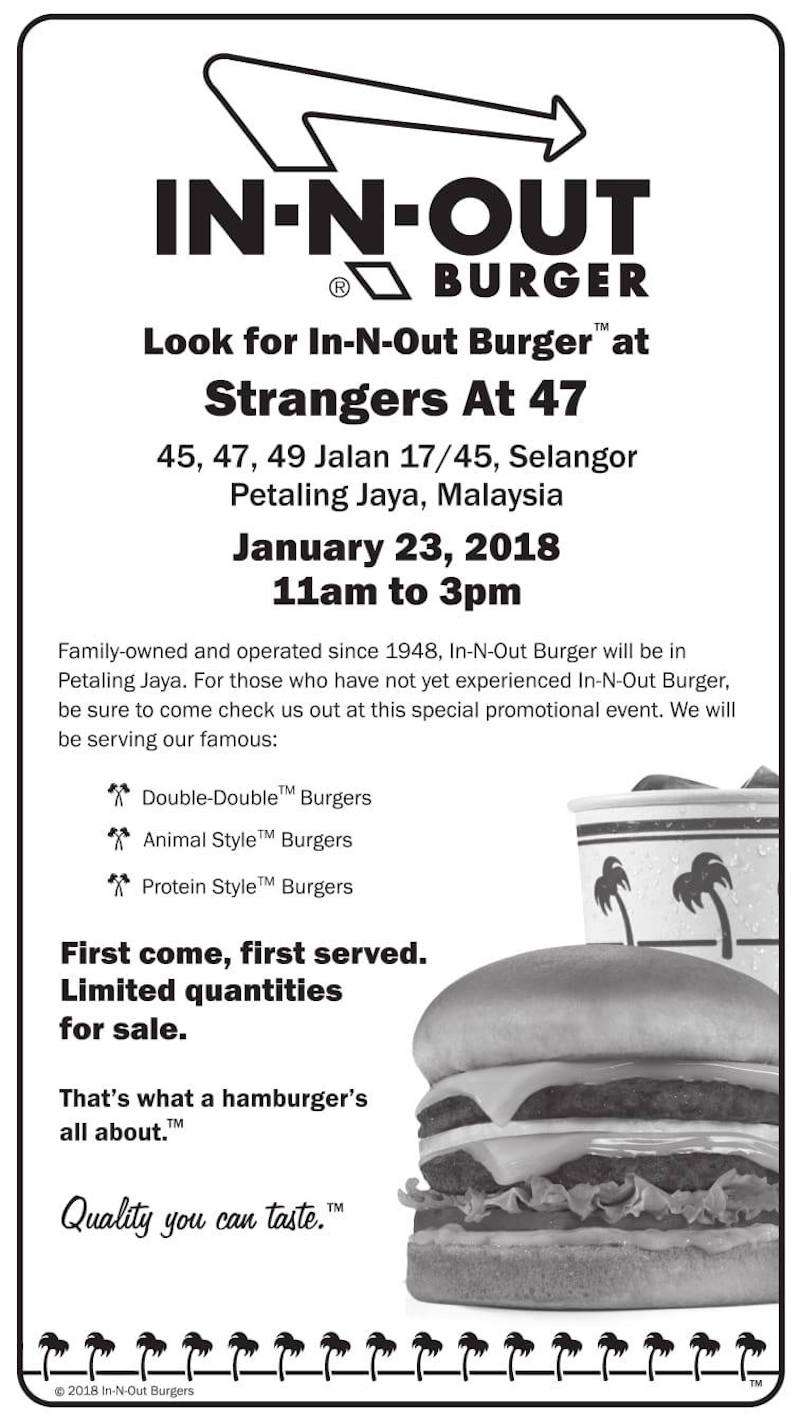Good girl go travel: In-N-Out Pop Up Store in Malaysia