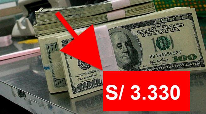 Precio del dólar Perú baja