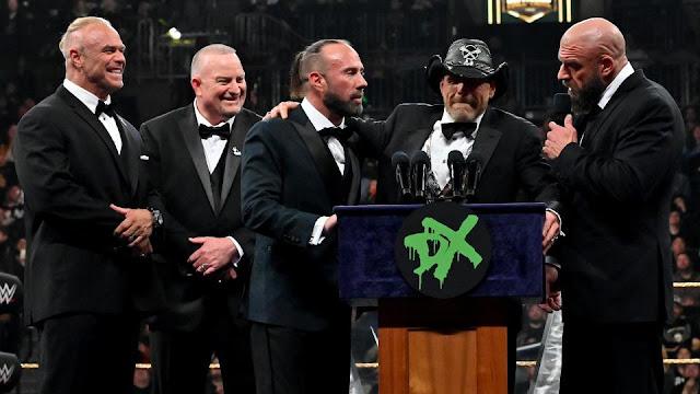 D-Generation X fará reunião em evento ao vivo da WWE no Madison Square Garden