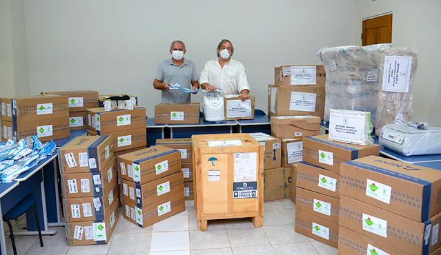 Prefeitura recebe doação de materiais e equipamentos para Unidades de Saúde e Abaré II