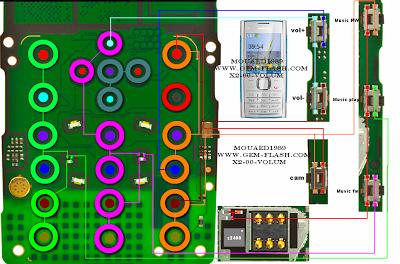 nokia x2-00 keypad problem final solution | gsm mania circuit diagram of nokia x2 00 circuit diagram of nokia c2 01 #4