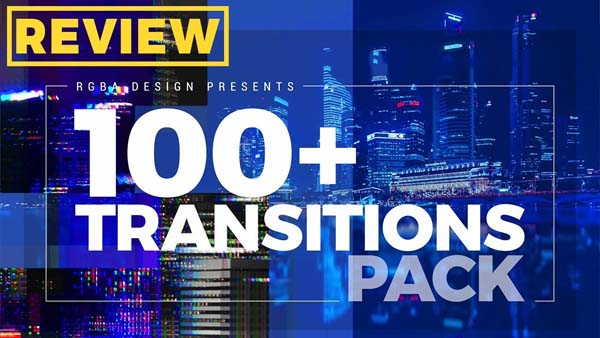 100 Different Transitions For After Effects