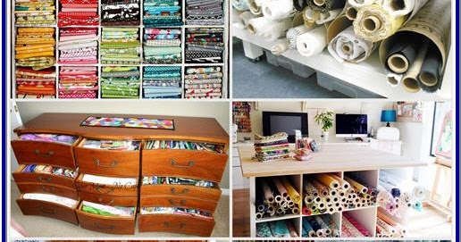 Tiny Home Designs: Condo Blues: 12 Small Space Fabric Storage Ideas You Need