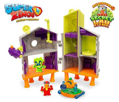 Toys - SUPERZINGS : Rivals of Kaboom Playset Laboratorio Secreto  Serie Adventure 1   Magic Box   A partir de 4 años  COMPRAR JUGUETE