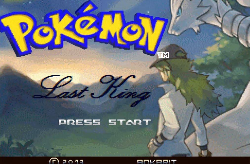 Pokemon Last King para GBA Imagen Portada