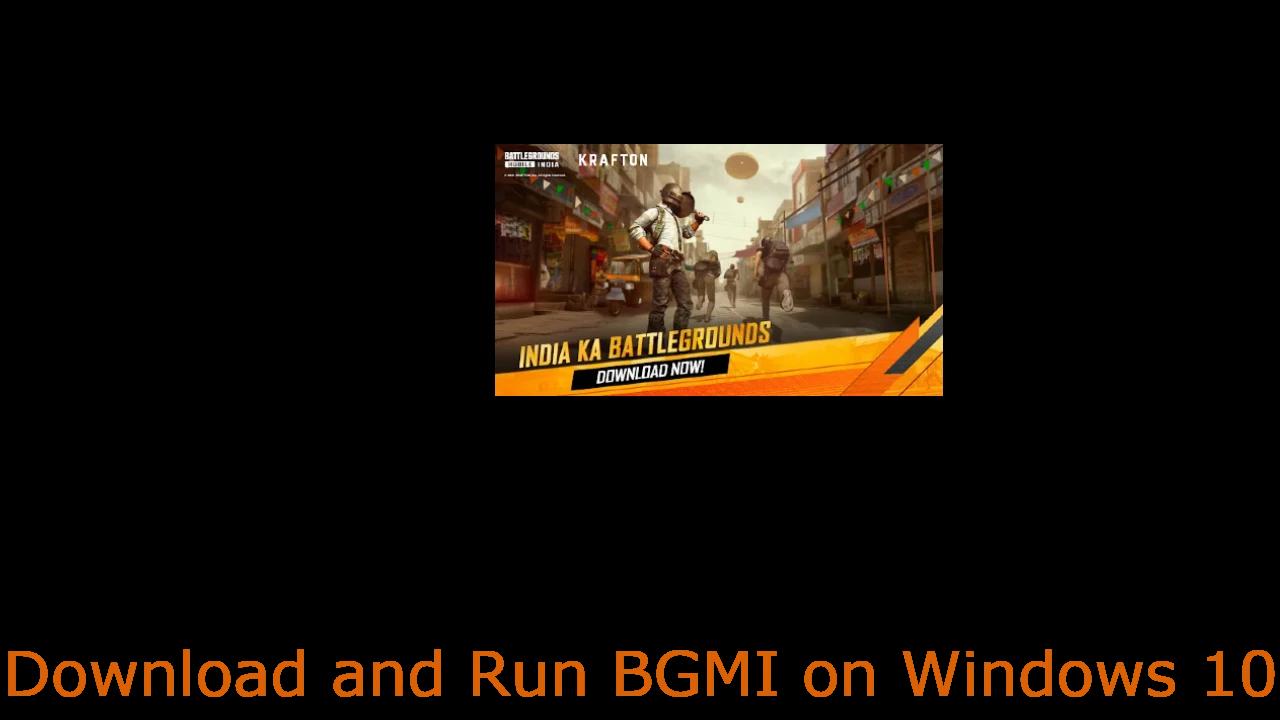 download bgmi for windows 10