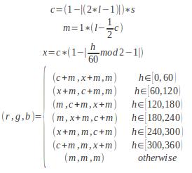 Dystopian Code: HSL - RGB Conversion Algorithms in C
