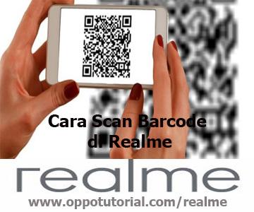 Cara Scan Barcode di Realme