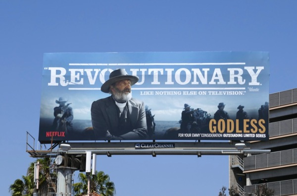 Godless Revolutionary 2018 Emmy FYC billboard