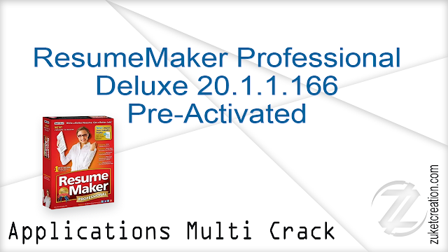 ResumeMaker Professional Deluxe 20.1.1.166 Pre-Activated