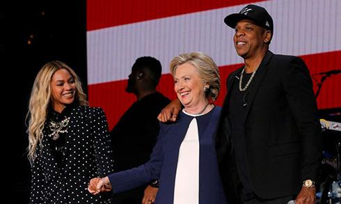 La victoria de Donald Trump Beyonce-jay-z-hillary-clinton-satanistas