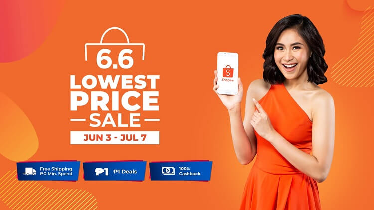 Shopee Launches 6.6 to 7.7 Lowest Price Sale, Reveals New Brand Ambassador