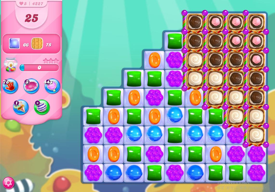 Candy Crush Saga level 4227