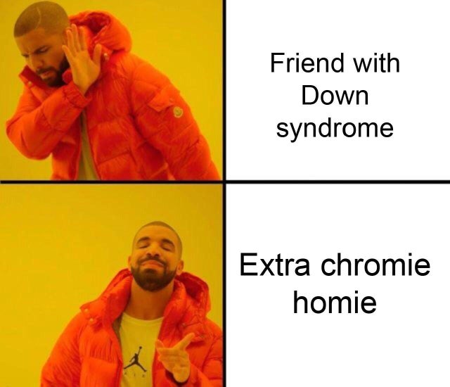 Down syndrome is a derogatory term