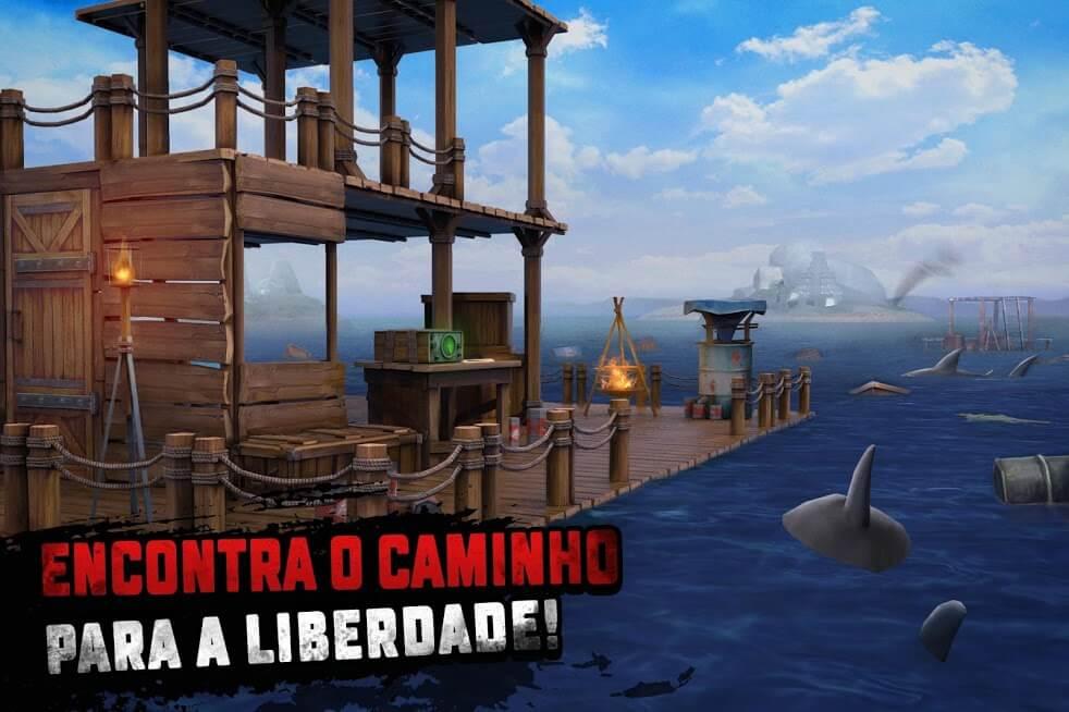 Raft Survival MOD Dinheiro Infinito 1.172