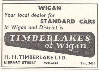 H H Timberlake advert from Motor 05 September 1956