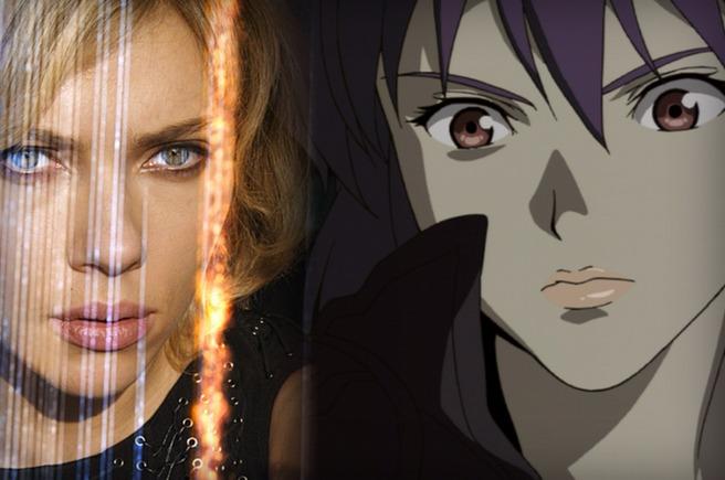 Anime Characters Don T Look Asian : Japan it s a wonderful rife scarlett johansson plays