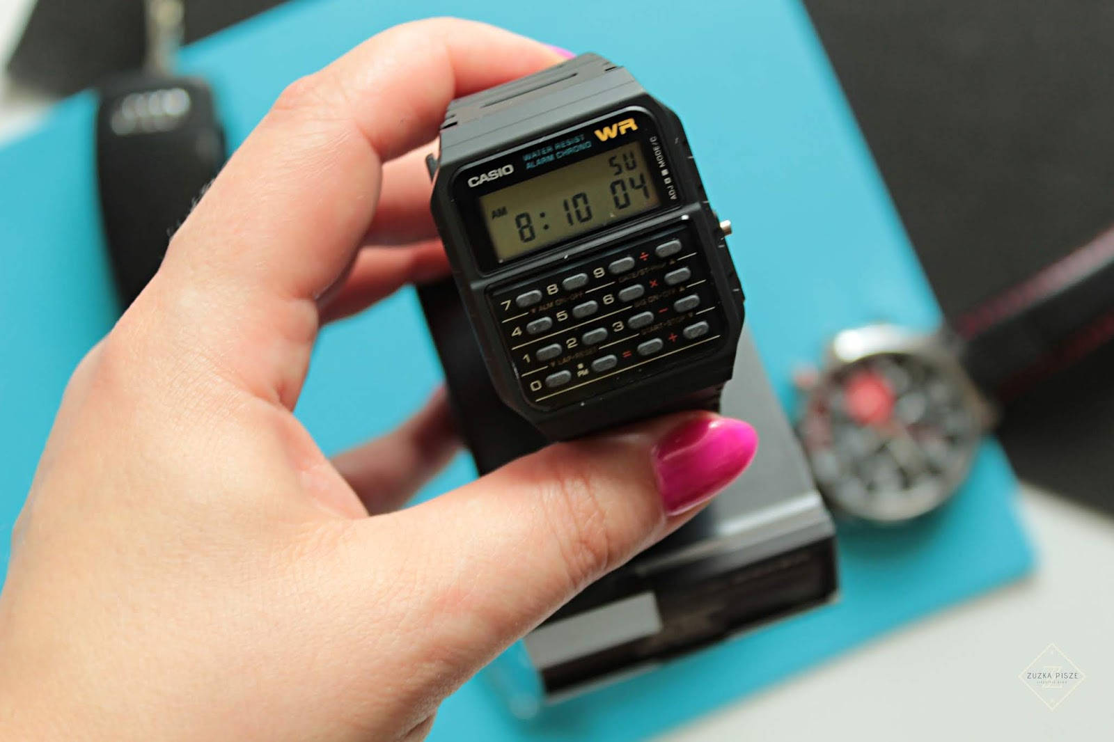 Prezent dla niego - zegarek z kalkulatorem CASIO
