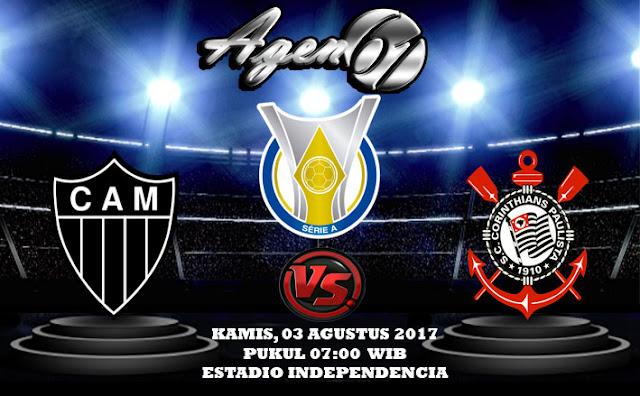 Prediksi Bola Atletico Mineiro vs Corinthians 03 Agustus 2017