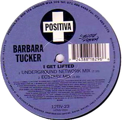 Barbara Tucker - I Get Lifted (Underground Network Mix - Vynil label)