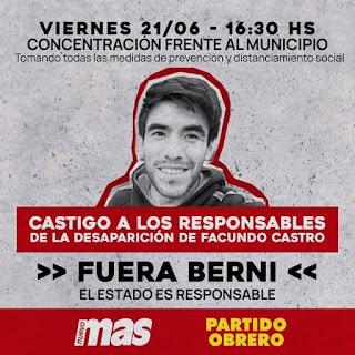 Marcha por Facundo Castro