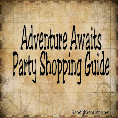 Go on a party adventure with these fun decorations for a Summer adventure, a graduation adventure, a birthday adventure, or any fun party theme. You'll find lots of decorations, party ideas, and fun to decorate an Adventure Awaits party.