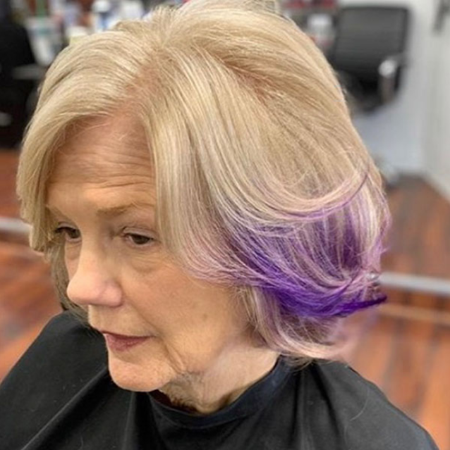 2021 short haircuts for older women over 50