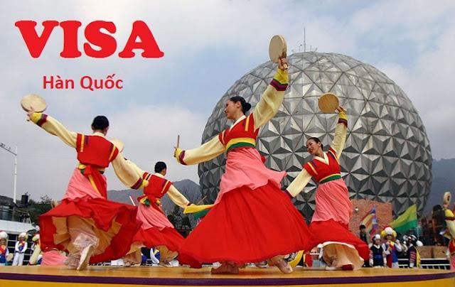 Thủ tục xin Visa đi du lịch Hàn Quốc tự túc