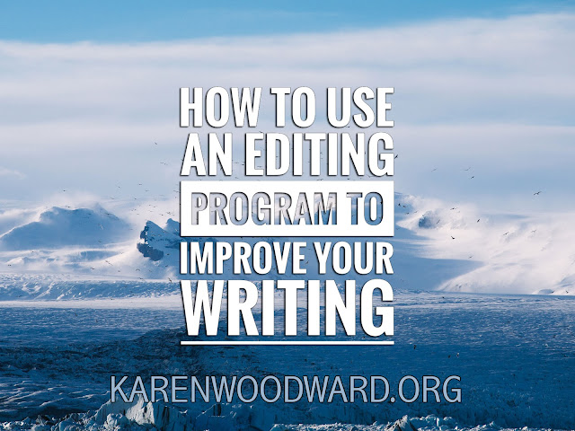 How To Use An Editing Program To Improve Your Writing