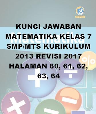 kunci jawaban matematika smp/mts kelas 7 halaman 60